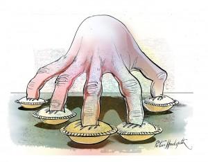 from: http://sonofadud.files.wordpress.com/2011/12/030-finger-in-every-pie.jpg
