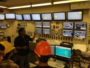 Control room for Waiau 7 & 8 - all the process is controlled from here