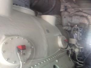 Turbine and Generator = 40 MegaWatts made right here!