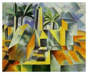 Cubism example from Picasso
