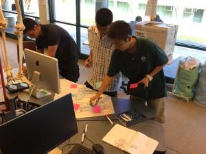 Students getting feedback