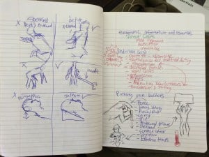 Matt's Sketches on good ergonomics