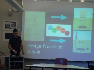 Opening slide from another group talking about their chair process