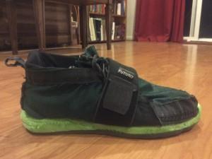 gian's shoe finished