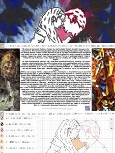 mahina's math and art poster