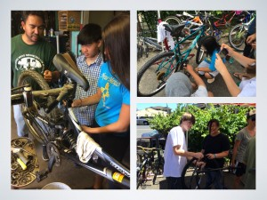 learning to repair bicycles